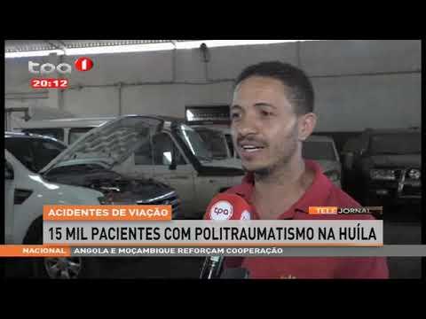 Acidentes de viação  - Falta de manutenção e pneus inadequados entre as causas na Huíla