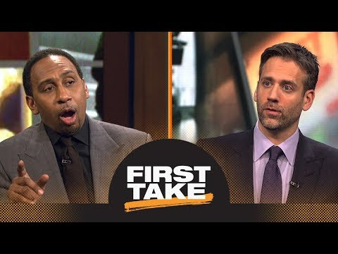 Is Stephen A. Smith worried about LeBron James leading Cavaliers out of East? | First Take | ESPN