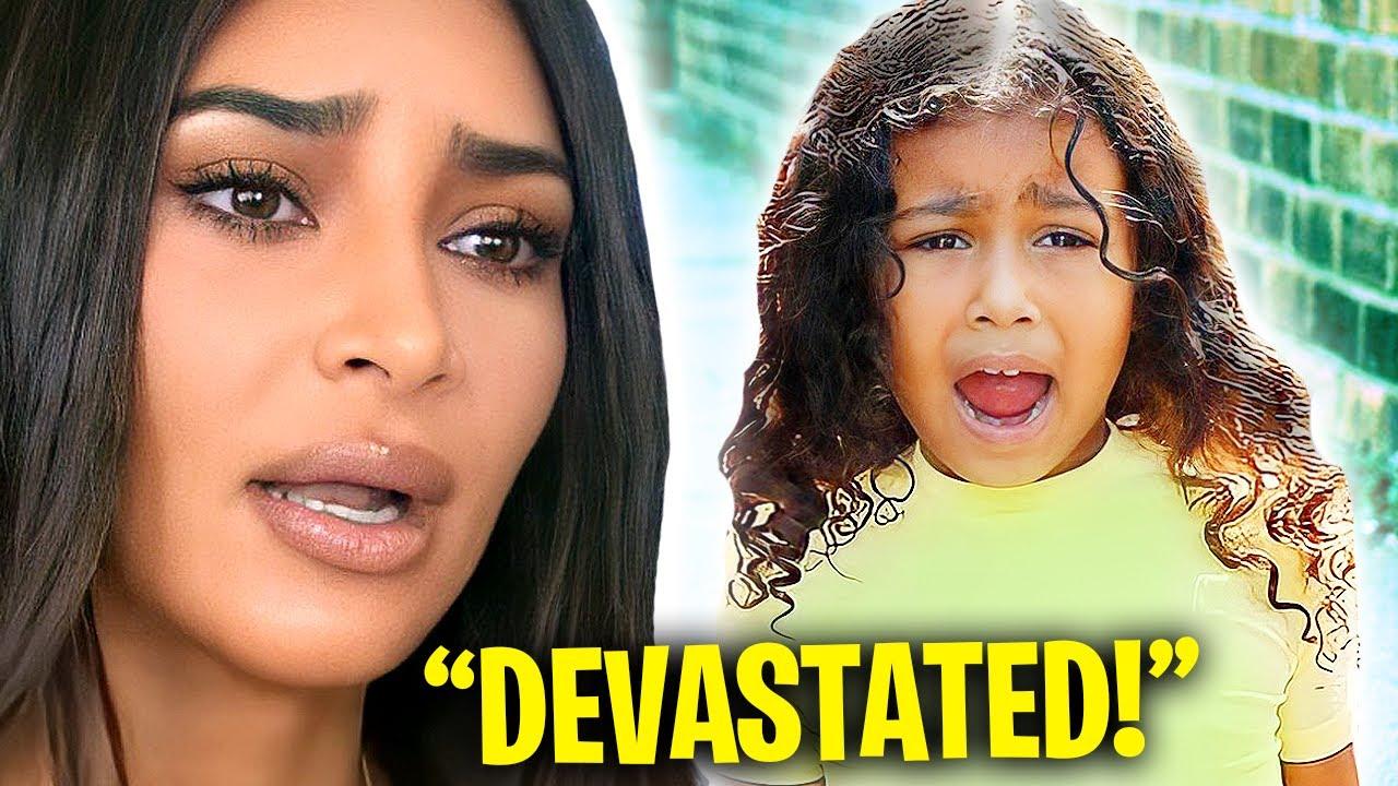 Kim Kardashian Finally Speaks On How Her Kids Reacted To The Divorce