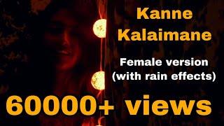 Kanne Kalaimane - Female version | Nalini Vittobane  | Moondram pirai | Lullaby series
