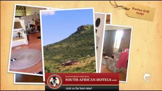 Rorkes Drift Hotel, KwaZulu Natal in South Africa