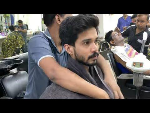 ASMR Indian Barber Head Massage By New Barber