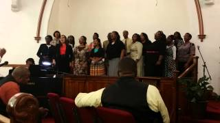 "Joliet Church of God Combined Choir sings ""Grateful"" by Hezekiah Walker"