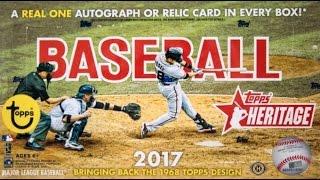 47692e2bf 2017 Topps Heritage Baseball Checklist
