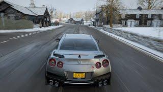 Nissan GTR R35 2017 - Forza Horizon 4 - Logitech G29 Gameplay