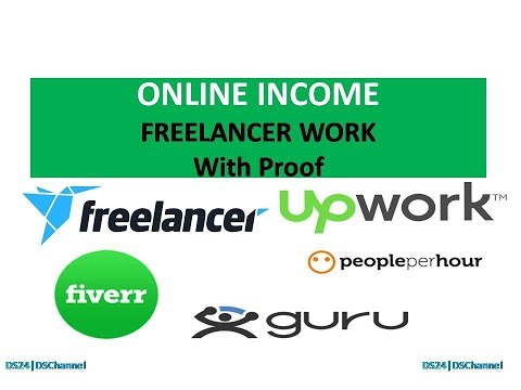 Online Income Way#1- Freelancer Work