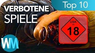 TOP 10 VERBOTENE SPIELE!!!