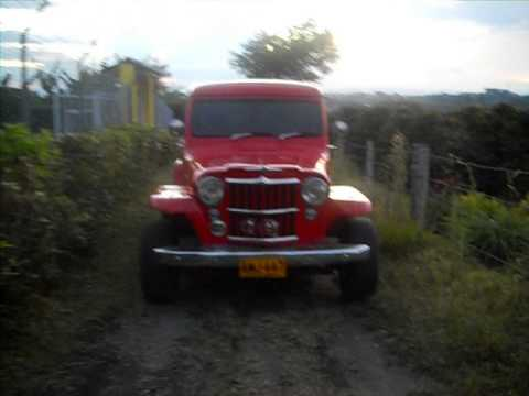 Jeep Willys Pick Up 1954 Youtube