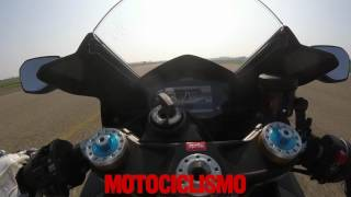 Aprilia RSV4 RF 2017: 0 to top speed acceleration
