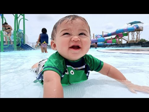 FAMILY WATERPARK VISIT!