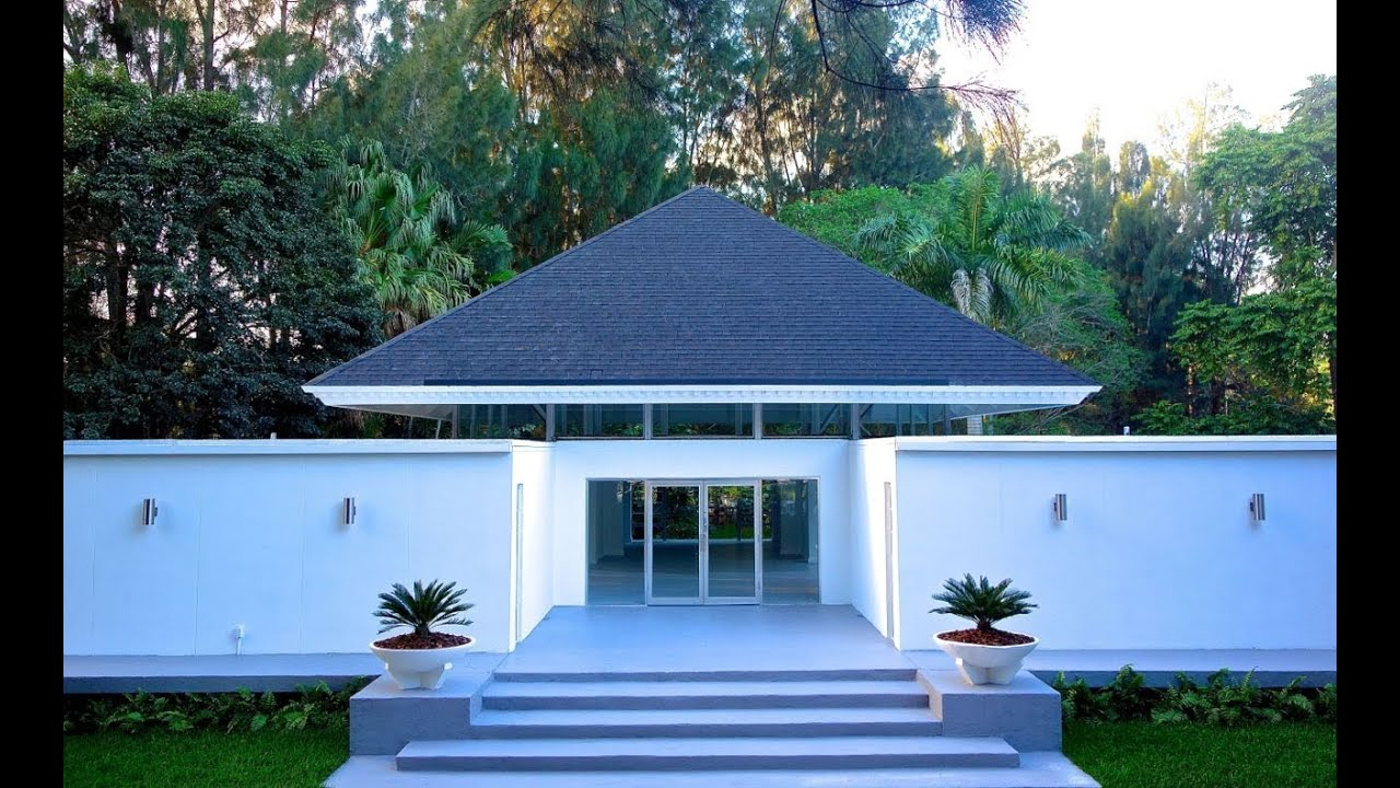 Mid century modern architectural jewel in davie florida for Modern houses in florida
