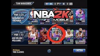 Gauntlet Update with New Diamond Starter (Build)! NBA 2K Mobile #53 - 6772 team power