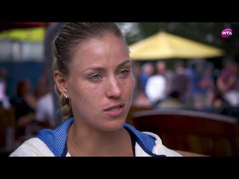 Angelique Kerber   2017 US Open Pre-Tournament Interview