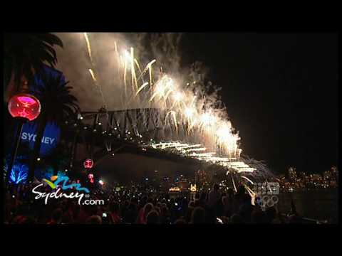 Sydney's New Year's Eve 2009-2010 Fireworks Celebration