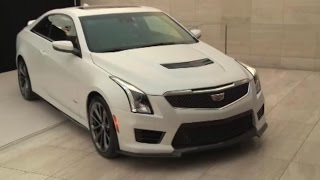 L.A. Auto Show: 2016 Cadillac ATS-V Coupe Unveiled