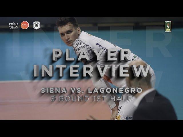 POSTMATCH SIENA VS LAGONEGRO - INTERVISTA A YURI ROMANÒ
