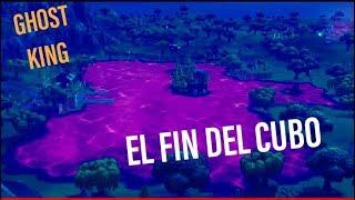 EL FIN DEL CUBO  FORTNITE GHOST KING