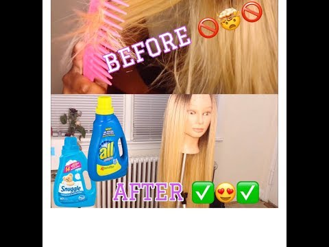 REVIVE YOUR SYNTHETIC WIGS WITH FABRIC SOFTENER! | DON'T THROW THAT WIG OUT YET SIS 😌