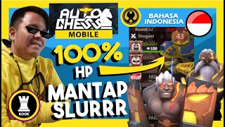 RANK GAMEPLAY - BUILD FULL DIVINITY - AUTO MENANG PERFECT 100% HP | Auto Chess Mobile Indonesia #45