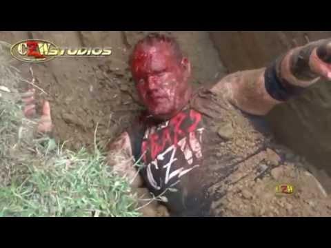 CZW Tournament of Death 15: Zandig buries DJ Hyde alive! (CZWstudios.com)