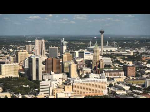 San Antonio, Texas Skyline Video