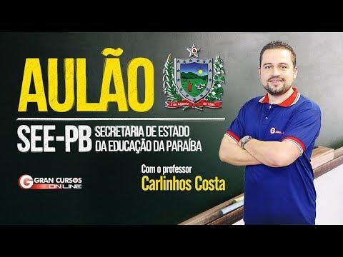 Aulão SEE-PB | Com o professor Carlinhos Costa
