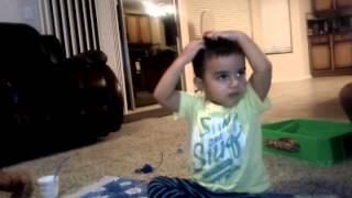 Dancing while sitting (song meri Marji)