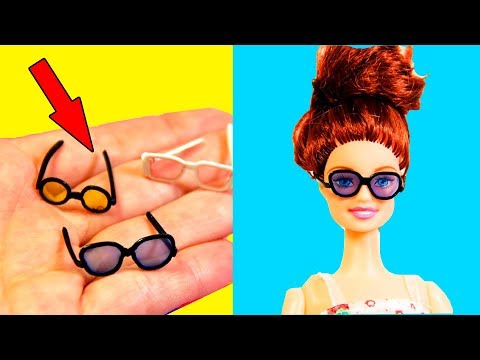 Diy Barbie Miniature Hacks | How to Make Barbie Miniature Ideas