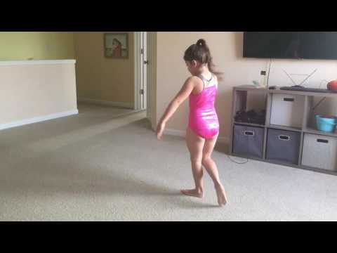 Gymnastics at home with Tianna