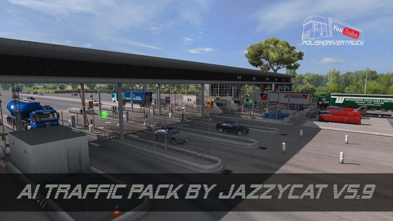 [ETS2  V1 28]   PDT   AI Traffic Pack by Jazzycat v5 9