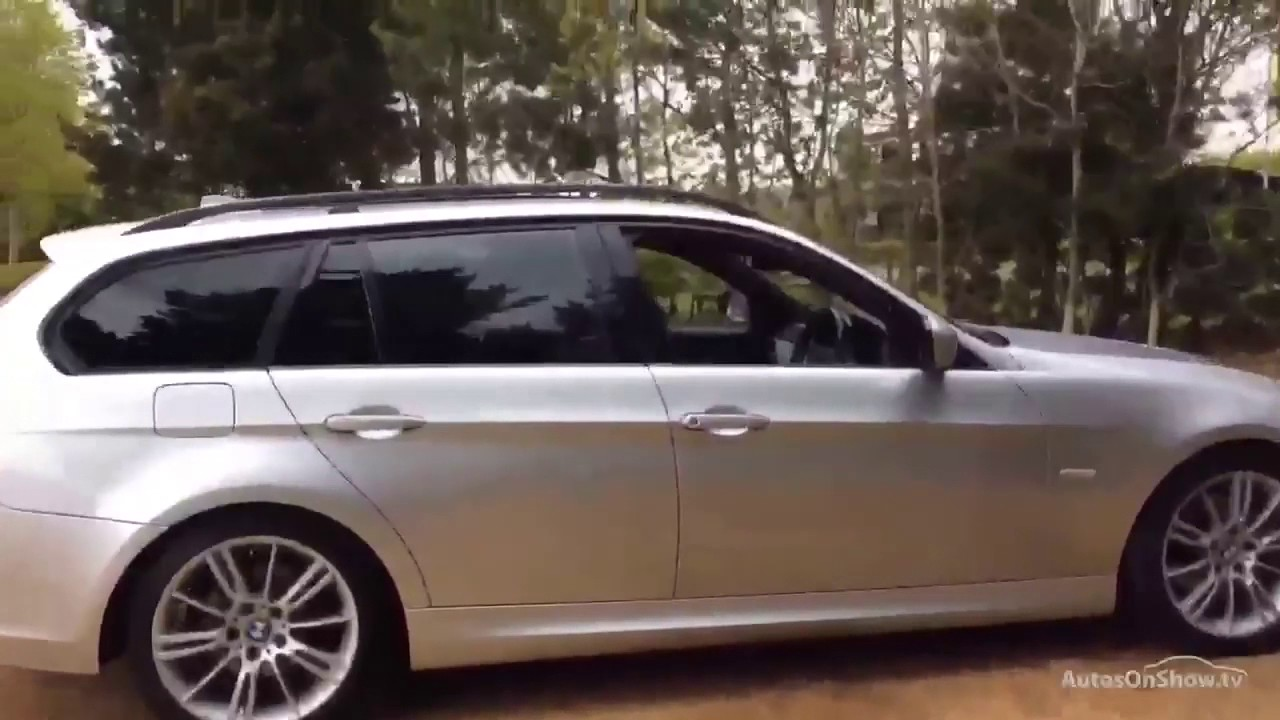 BMW 3 SERIES 320D M SPORT BUSINESS EDITION TOURING SILVER 2009 - YouTube