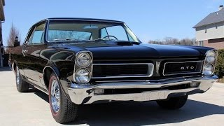 1965 Pontiac GTO Tri Power For Sale