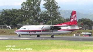 Air Panama - Fokker F-27-500F Despegue