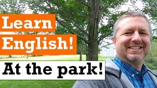 Let's Learn English at the Park | English Video with Subtitles
