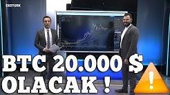 Bitcoin Bu Tarihlerde 20.000$ Olacak! Bitcoin; Ethereum; XRP; LTC Teknik Analizi