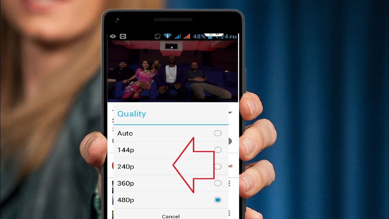 How to Set Default Youtube Video Quality in Phone &Tablet (Easy No App)