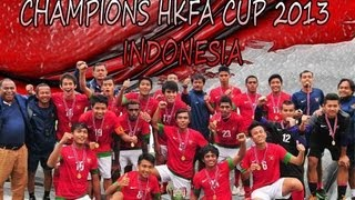 We Are The Champions - Queen with Lyrics (TIMNAS U-19 Juara HKFA 2013 di Hongkong)