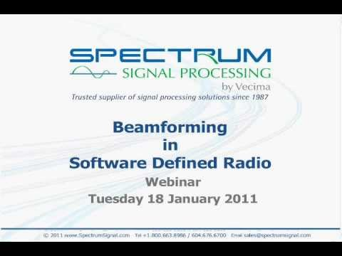 Beamforming in Software Defined Radio