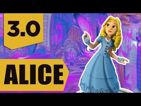 Disney Infinity 3.0: Alice (Alice in Wonderland) Gameplay and Skills