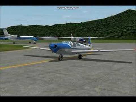 Saab 91 Safir flightsim 2004