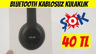 ŞOK'da 40 TL'ye Satılan Bluetooth Kablosuz Kulaklık Asonic AS-K02 Alınır Mı?