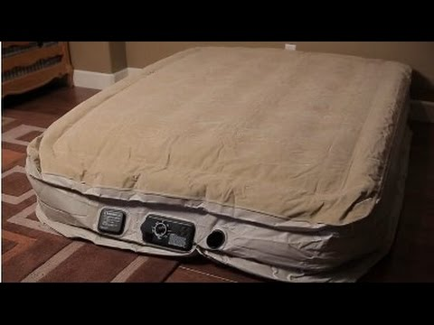 serta raised air mattress Serta Raised Air Mattress with Never Flat Pump Review   YouTube serta raised air mattress