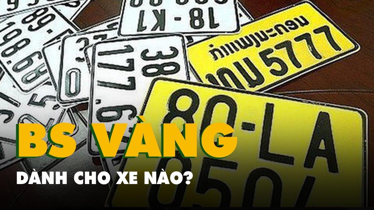 Vì sao xe kinh doanh vận tải phải đổi biển số sang màu vàng?