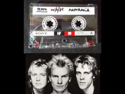 "THE POLICE - Perth 26-02-1981 ""Entertainment Centre"" Australia (audio-incomplete show)"
