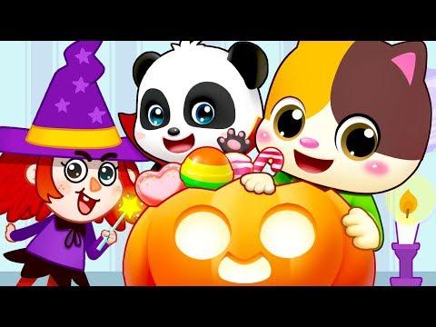 Halloween Witch, Pumpkin Patch   Nursery Rhymes   Kids Songs   Kids Cartoon   BabyBus