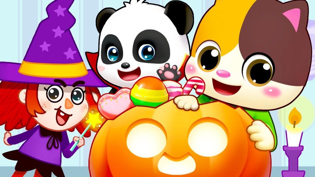 Halloween Witch, Pumpkin Patch | Nursery Rhymes | Kids Songs | Kids Cartoon | BabyBus