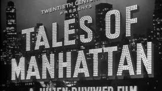 Tales of Manhattan (1942) title sequence