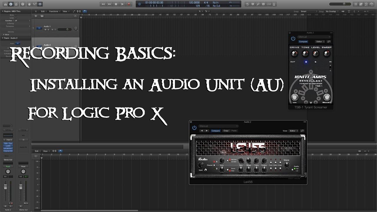 free au plugins for logic pro x