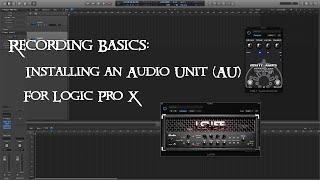 So Installieren Sie ein Audio Unit - (AU) für Logic Pro X