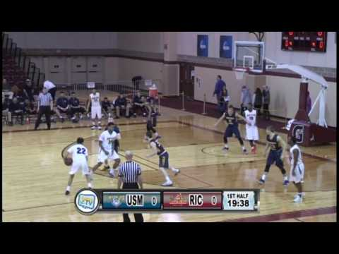 RIC Men's Basketball vs University of Southern Maine 2-11-17